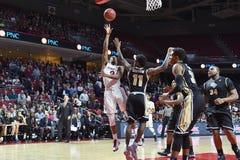 2015 basket-ball de NCAA - temple - UCF Photo libre de droits