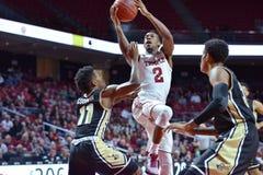 2015 basket-ball de NCAA - temple - UCF Image libre de droits