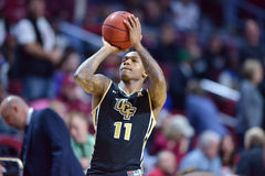 2015 basket-ball de NCAA - temple - UCF Photos stock