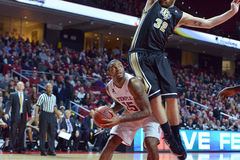 2015 basket-ball de NCAA - temple - UCF Photographie stock