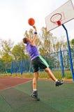 Basket-ball de rue Photos libres de droits