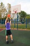 Basket-ball de rue Photo stock
