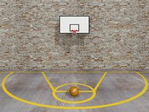 Basket-ball de rue Image stock