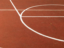 Basket-ball de rue. Photo libre de droits