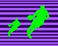 Basket-ball deux Image libre de droits
