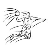 Basket Ball Stock Image