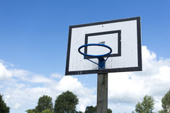 Basket-ball extérieur photo stock