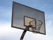 Basket-ball extérieur Fond photos stock