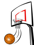 Basket ball game Stock Images