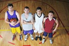 Free Basket Ball Game Player At Sport Hall Stock Image - 9784271