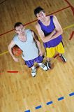 Basket ball game player portrait Stock Photography