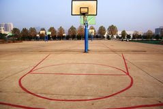 Basket ball hoop Royalty Free Stock Photography
