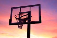 Basket ball hoop Royalty Free Stock Photography