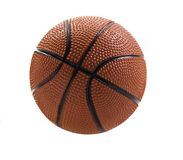 Basket ball isolated on white Stock Photography