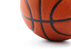 Basket ball isolated on white background Stock Images