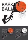 Basket Ball Logo Royalty Free Stock Photos
