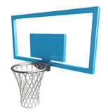 Basket ball net. 3d rendered illustration of basket ball net Stock Image