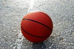 Basket-ball orange Images stock