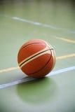 Basket ball on the playground Stock Image