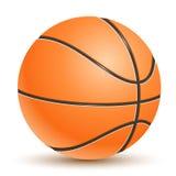 Basket-ball réaliste de vecteur Photo libre de droits