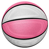 Basket-ball rose Photos stock