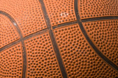 Basket ball texture Royalty Free Stock Image