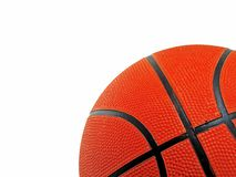 Basket ball on white background Stock Photography