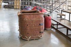 basket of balloon Royalty Free Stock Image