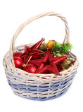 Basket and balls Stock Photo