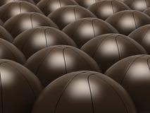 Basket-balls Photos libres de droits