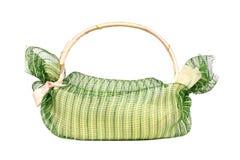 Basket bamboo Stock Photo