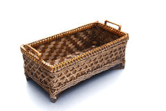 Basket bamboo Royalty Free Stock Photography