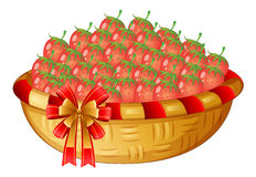 A basket of berries Royalty Free Stock Photos