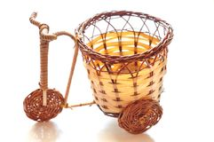 Basket-bicycle Stock Image