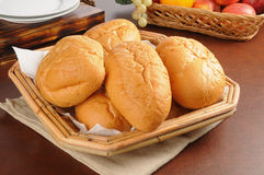 Basket of breads Royalty Free Stock Photo