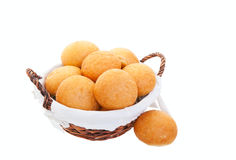 Basket of Buns Royalty Free Stock Photography