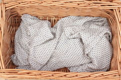 Basket cloth Stock Photography