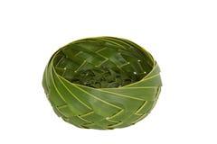 Basket coconut leaf Stock Photos