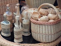 The basket collection Stock Photos