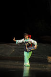 Basket dance- Jiangxi opera a steelyard Royalty Free Stock Photos