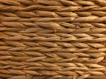 Wicker Basket Background Texture Royalty Free Stock Images