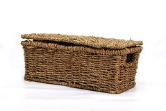 Basket for dirty clothes Royalty Free Stock Photo