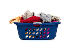 Basket of Dirty Laundry Royalty Free Stock Photo