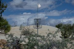 Disc Golf Basket in Farmington New Mexico