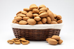 Basket dry fruits Stock Photography