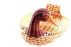 Basket duck Stock Image