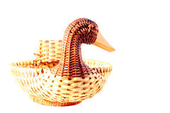Basket duck Royalty Free Stock Photography