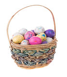 Basket of Easter Candy Stock Photo