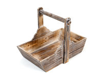 Basket for firewood Stock Images