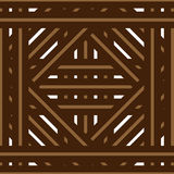 Basket/floor pattern. A pattern that can be used as a basket, floor, deck decoration vector illustration